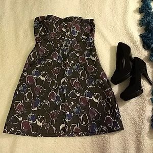 American Eagle Outfitters strapless dress size 0